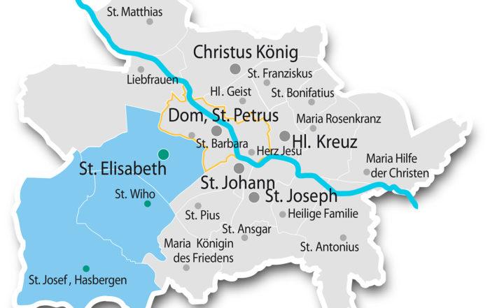 Plan PfarreiengemeinschaftenOsnabrück